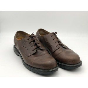 Timberland Brown Leather Waterproof Oxfords